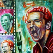 05) September 2011,Ö.l a.Lw., 70x70, Jerry Lee Lewis