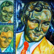 09) November 2011,Öl a.Lw., 70x70, Bill Haley