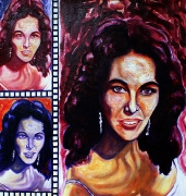 12) November 2011, Öl a.Lw., 70x70, Wanda Jackson