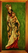 20) Öl a. Lw., 80x55, Madonna