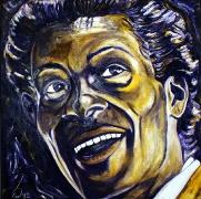 08) April 2012, Öl a. Lw., 80x80, Chuck Berry