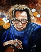 11) Juni 2012,Öl a. Lw., 100x70, Eric Clapton