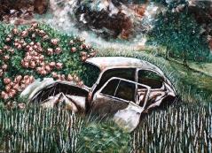15) Juli 2012, Öl a. Lw., 70x100, Back to nature