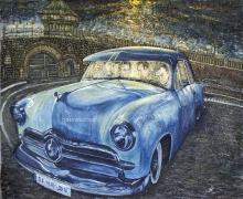 13) Mai 2016, Öl a.Lw., 110x140, mysteri car-St. Quentin