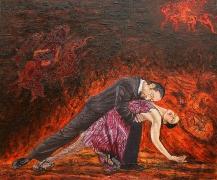 19) September 2016, Öl a.Lw., 110x130, Walpurgisnacht