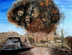 10)Dezember,2020,Öl a.Lw.,105x140,Pink Floyd-Zabrieski Point